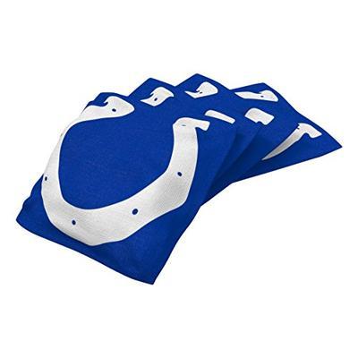 Wild Sports NFL Indianapolis Colts Blue Authentic Cornhole Bean Bag Set (4 Pack)