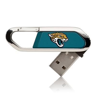 Jacksonville Jaguars Solid Clip USB Flash Drive