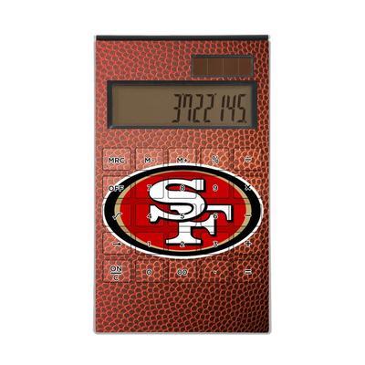 San Francisco 49ers Football Design Desktop Calculator