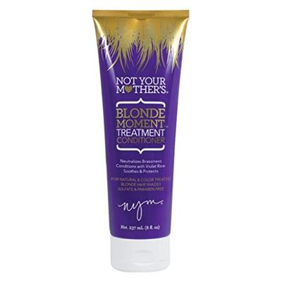 Not Your Mothers Blonde Moment Treatment Conditioner 8 Ounce Tube (237ml) (2 Pack)