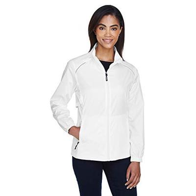 Ash City Core 365 Women's Motivate Unlined Lightweight Jacket, White 701, Medium