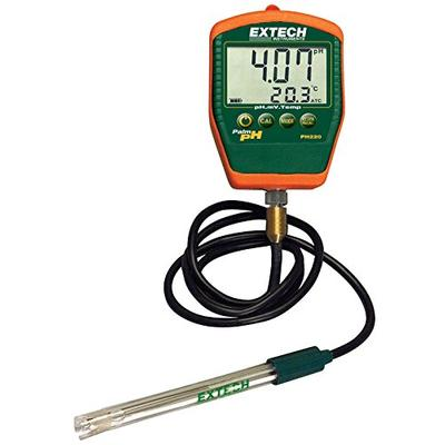 Extech PH220-C Waterproof Palm pH Meter with Cabled Electrode