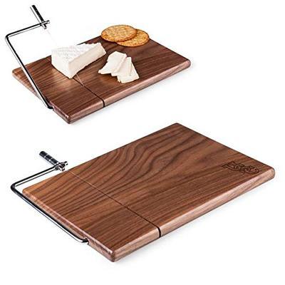NCAA South Carolina Fighting Gamecocks Meridian Black Walnut Cutting Board with Cheese Slicer