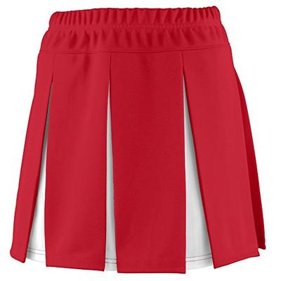 Augusta Sportswear Girls' Liberty Skirt S Red/White