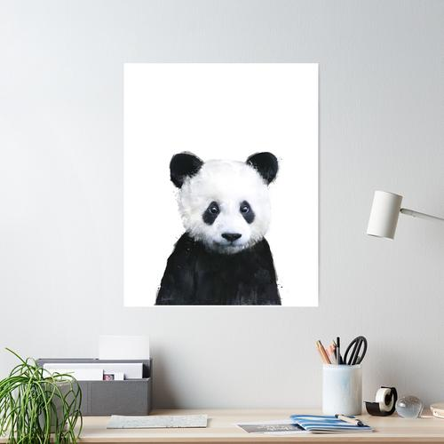 Kleiner Panda Poster