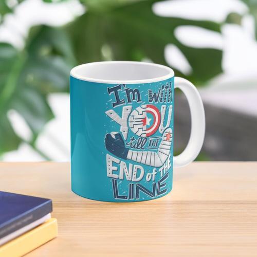 Bis zum Ende der Linie Tasse