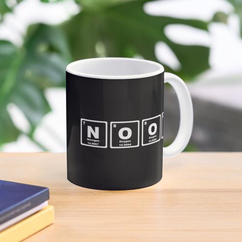 Noob - Periodensystem Tasse