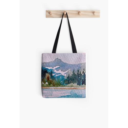 Blau-Teal Mountain Wild und robust Tasche