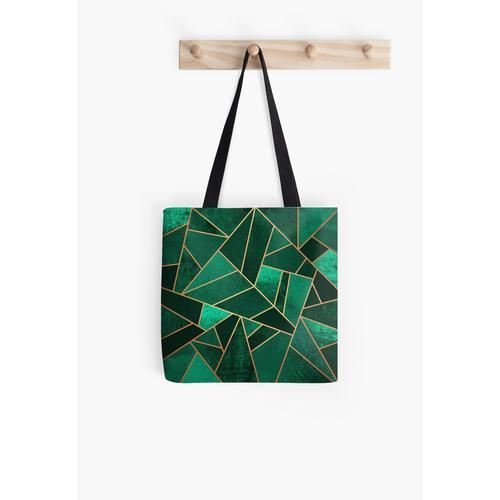 Smaragd und Kupfer Tasche