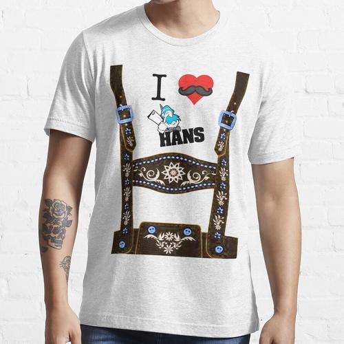 Lederhosen - Braun Essential T-Shirt