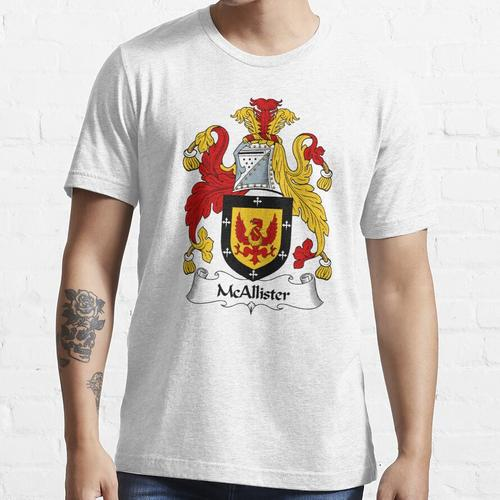 McAllister Wappen / McAllister Familienwappen Essential T-Shirt