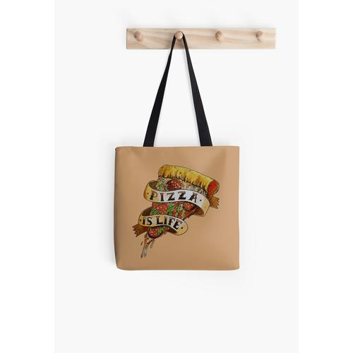 Pizza is Life Tasche