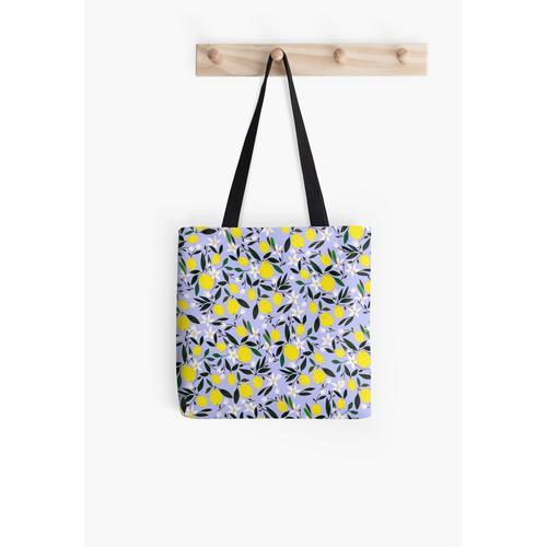 Zitronenblau Tasche