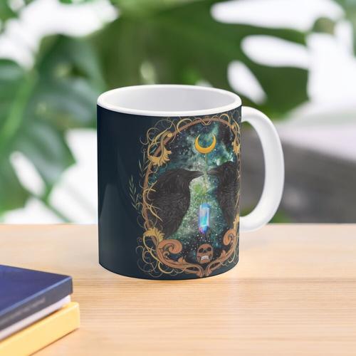 Raven Moon Orakel mit Kristall Tasse