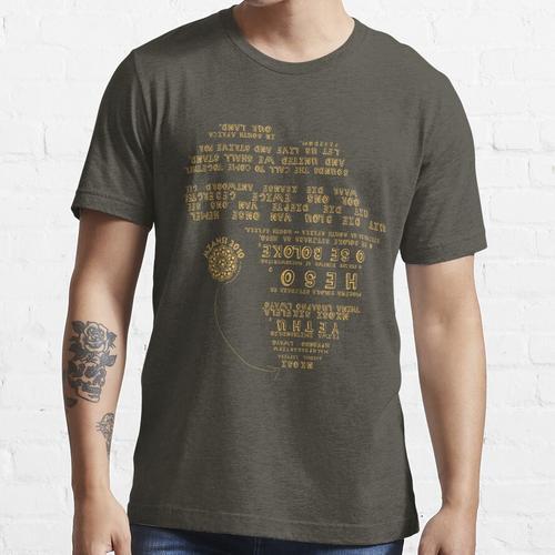 Mzansi 2010 - Nkosi Sikelel 'iAfrika - Bafana Bafana Gold Essential T-Shirt