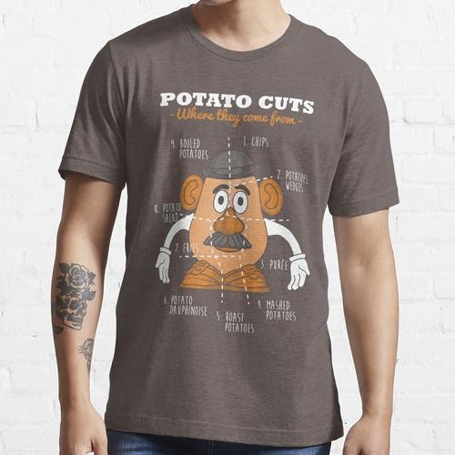 Kartoffelschnitte Essential T-Shirt