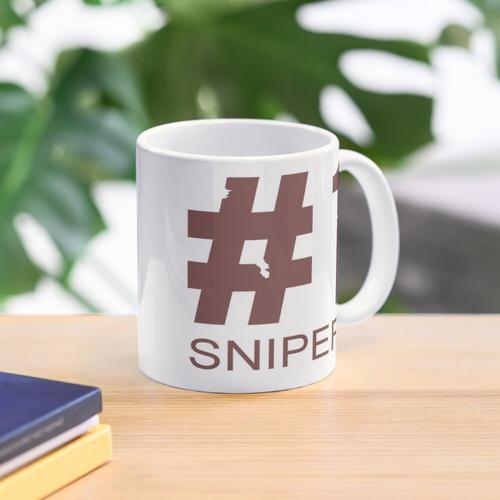 TF2 # 1 Sniper Rot Tasse
