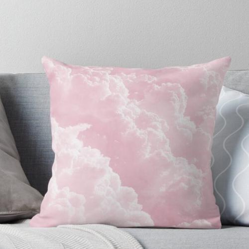 Rosa Wolken Kissen
