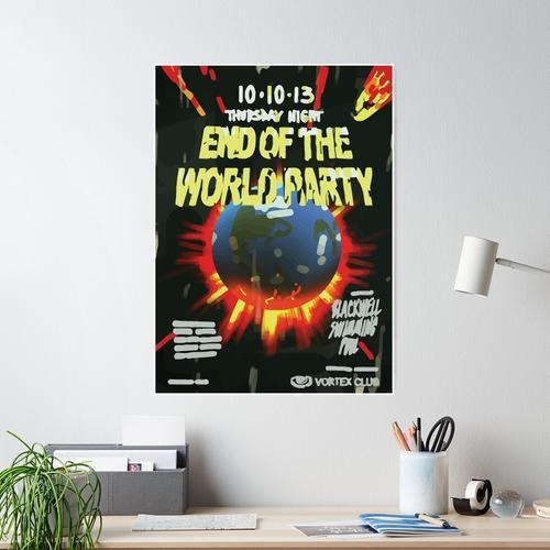 Vortex Club - Ende der Welt Vortex Club Poster Poster