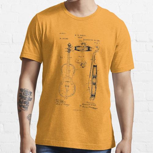 Geiger Geiger Geschenk Geige Essential T-Shirt