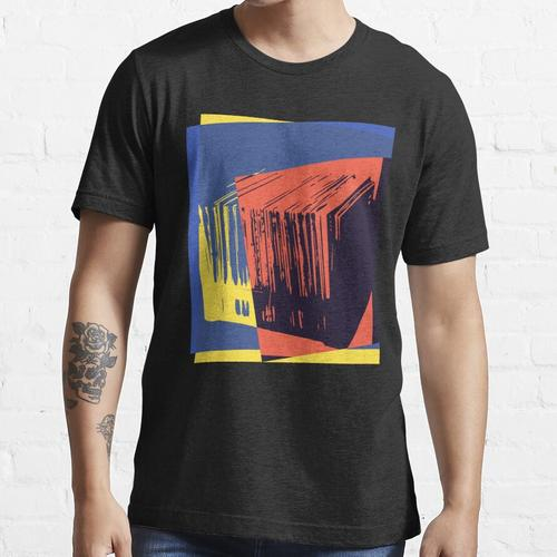 Pop Art Schallplatten Kiste Essential T-Shirt
