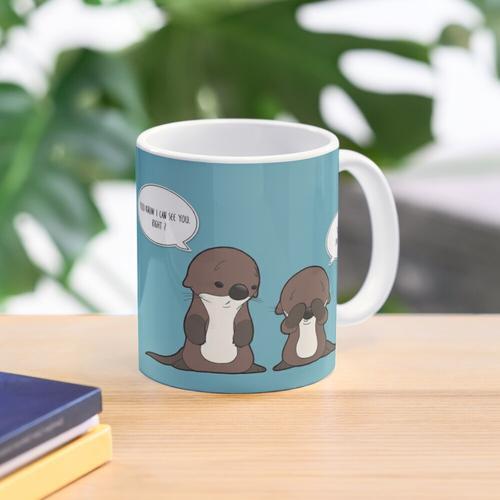 Unsichtbarer Otter Tasse