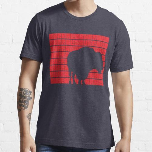 Büffel Büffel Büffel Büffel Büffel Büffel Büffel Büffel. (Rot) Essential T-Shirt
