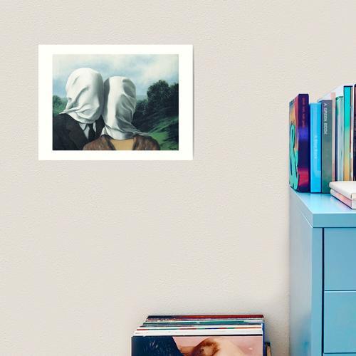 René Magritte - Die Liebhaber II Kunstdruck