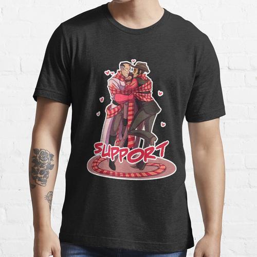 TF2: Unterstützungsklassen Essential T-Shirt