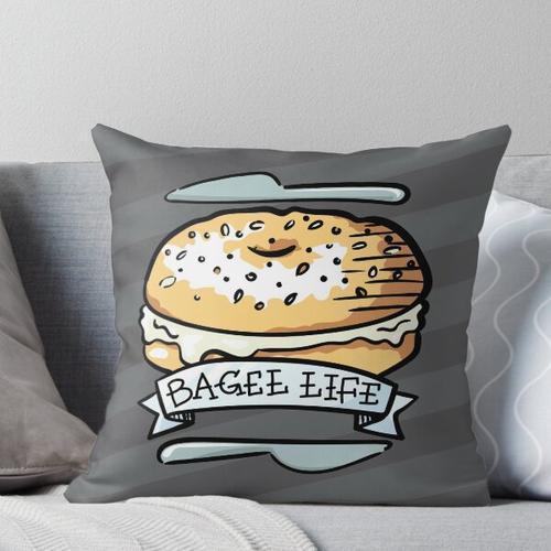 Bagel Life - Alles Bagels sind alles für mich Kissen