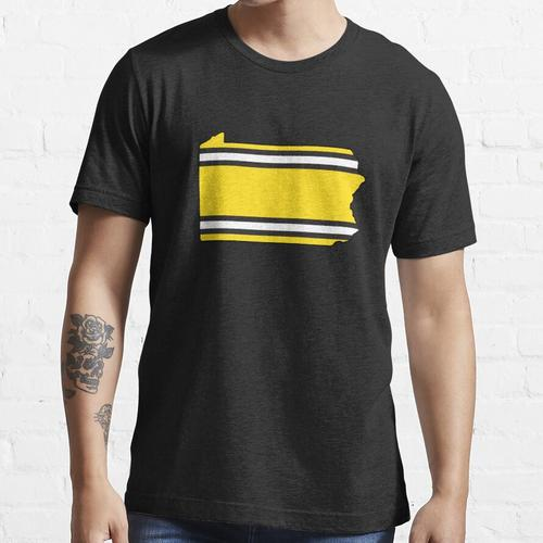 Penn Stahlstreifen Essential T-Shirt