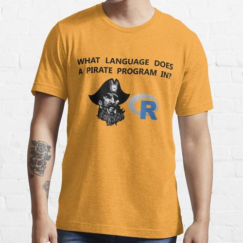R Datenpirat Essential T-Shirt