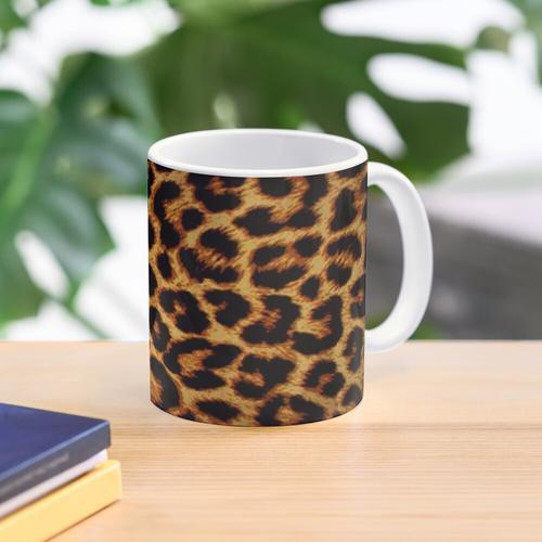 Leopard-Druck Tasse