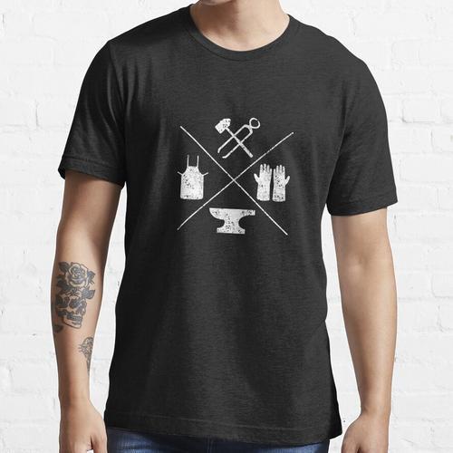 Schmiedewerkzeuge Schmiede Schmiede Schmiede T-Shirt Essential T-Shirt