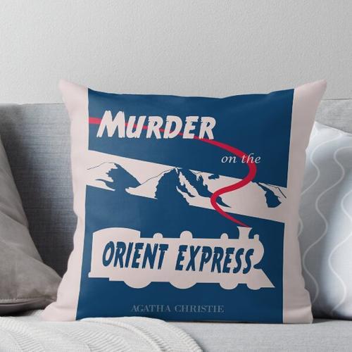 Mord am Orient Express Kissen