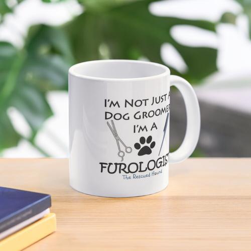 Hundesalon-Furologist-Pflegen-Geschenk Tasse