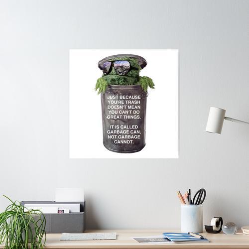 Motivierter Müll Poster
