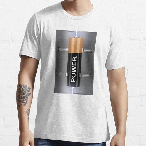 Elektrische Batterie Essential T-Shirt