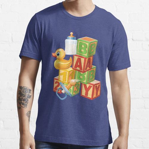 Blöcke, Enten Baby Abdl Adult Windel Essential T-Shirt