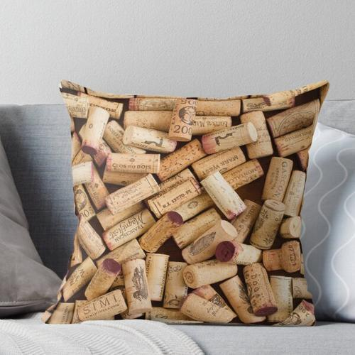 Weinkorken Kissen