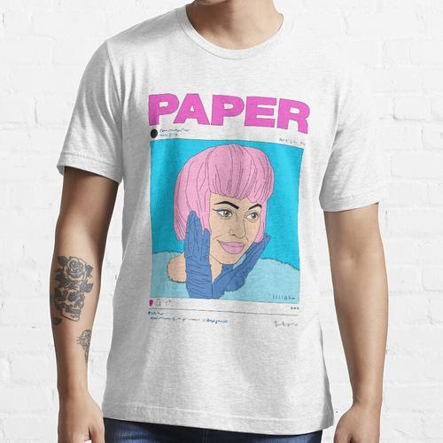 KYLIE JENNER X PAPIER MAGAZIN Essential T-Shirt