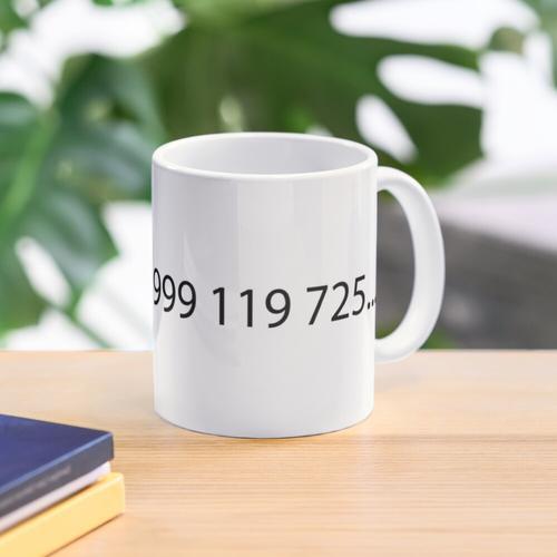 Notrufnummer von IT Crowd Tasse