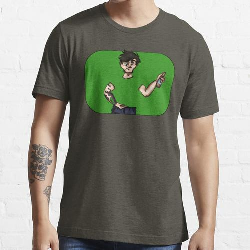 Greenscreenception (mit Green Screen) Essential T-Shirt