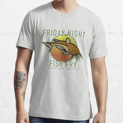 Freitag Nacht Fischbraten Essential T-Shirt