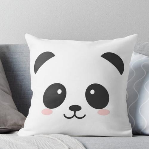 Panda-Boo! Kissen
