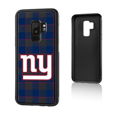 New York Giants Galaxy Plaid Design Bump Case