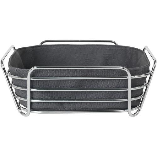 BLOMUS Brotkorb DELARA, (1 tlg.), 25x25 cm grau Aufbewahrung Küchenhelfer Haushaltswaren