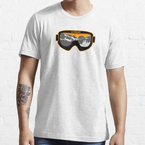 Sonnenbrillen 2   Ski- und Snowboardbrille Kunst   DopeyArt Essential T-Shirt