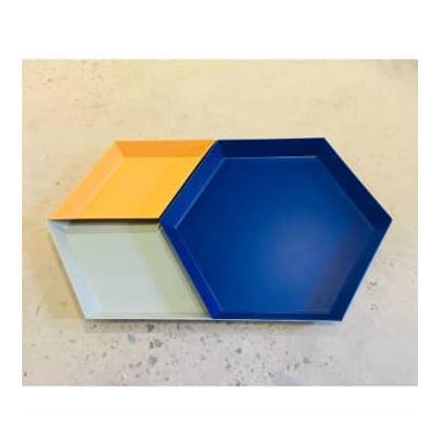 HAY - Kaleido Hexagon Trays - Se...