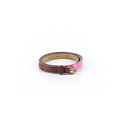 Old Navy Belt: Pink Solid Access...